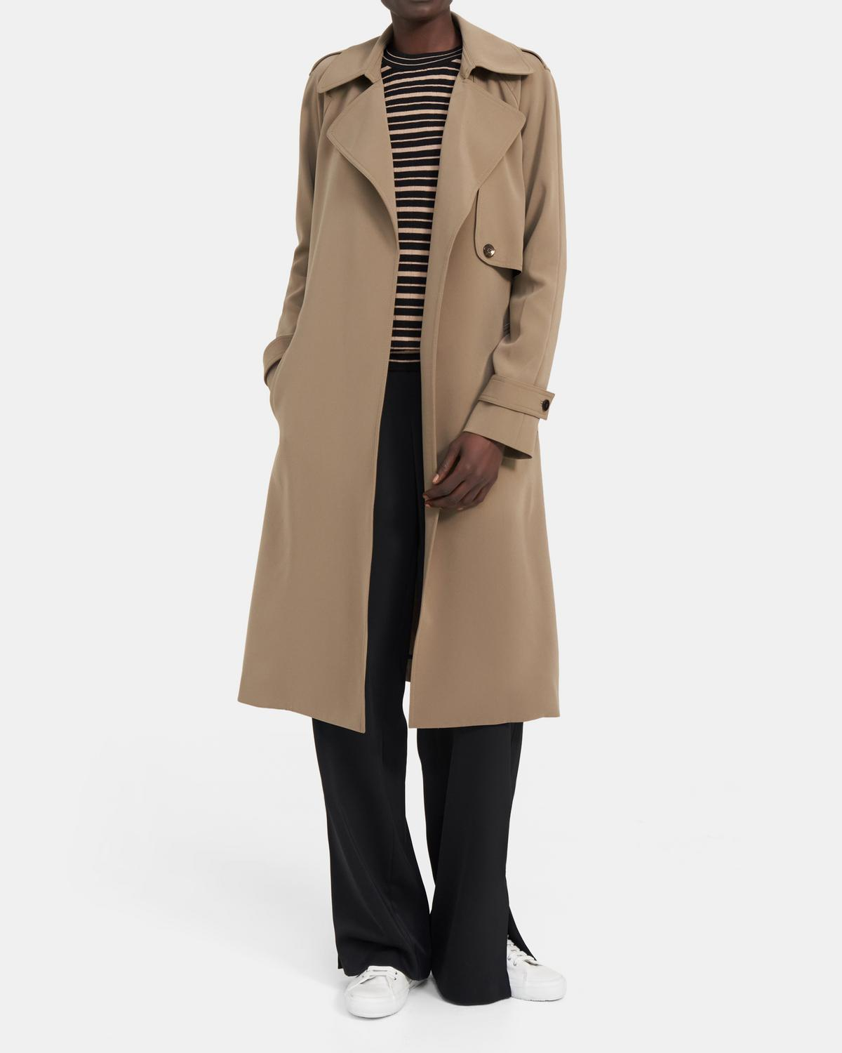 PERFECT RAGLAN TRENCH