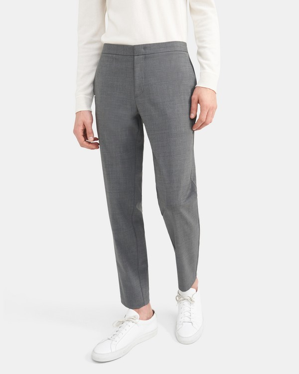 Tapered Pant in Stretch Wool