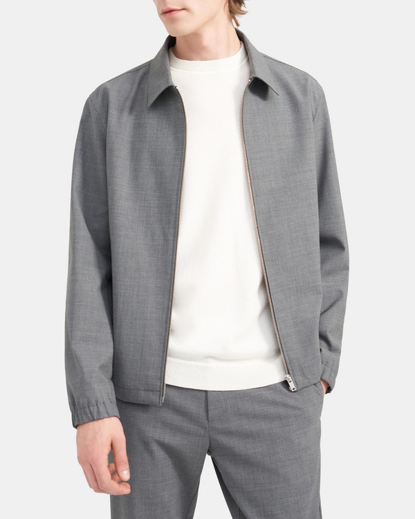 Jacket in Stretch Wool