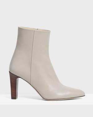 Side Seam Bootie in Leather