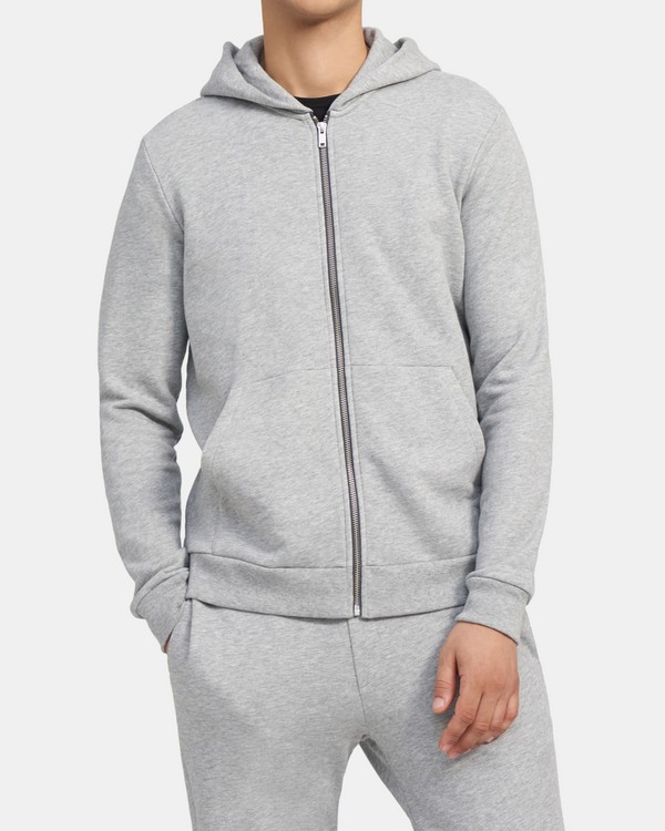 Ridge Hoodie in Cotton Terry