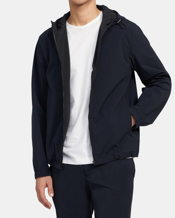 Wes Jacket in Stretch Nylon