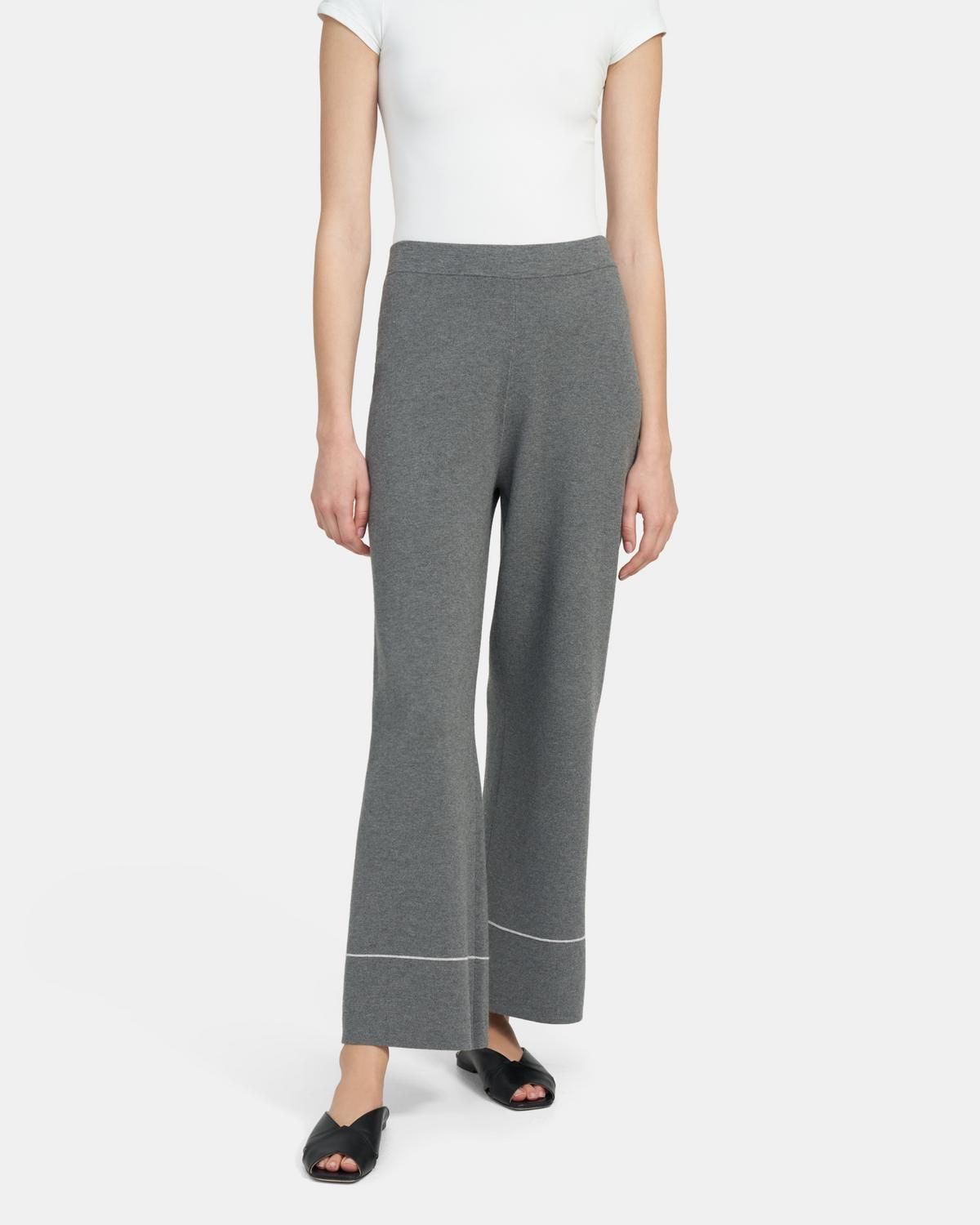 TIPPED KNIT PANT