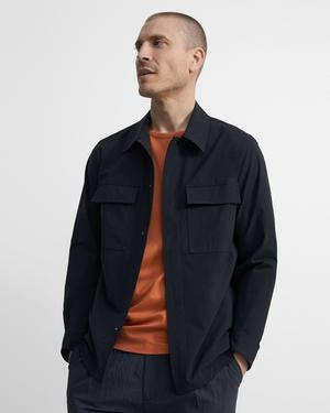 Snap-Front Jacket in Precision Tech