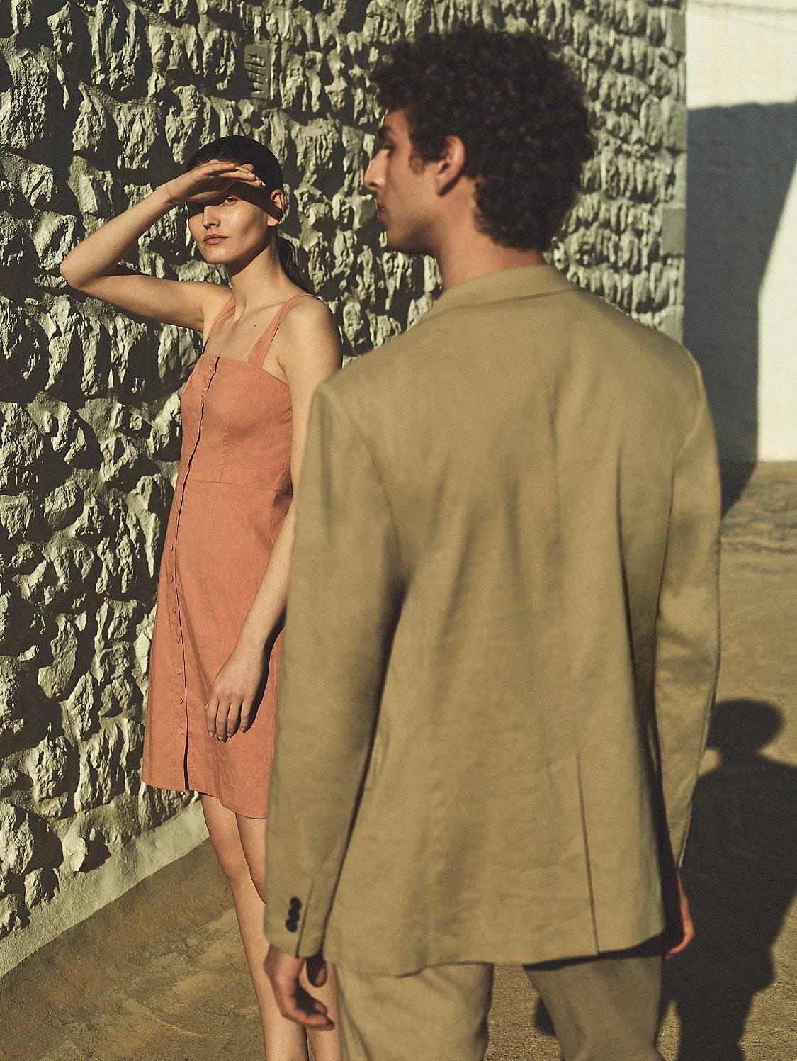 A Wardrobe in Linen