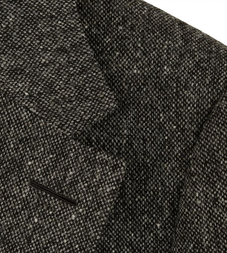 DONEGAL TWEED NOTCH LAPEL LIGHT CONSTRUCTION JACKET C fullsize