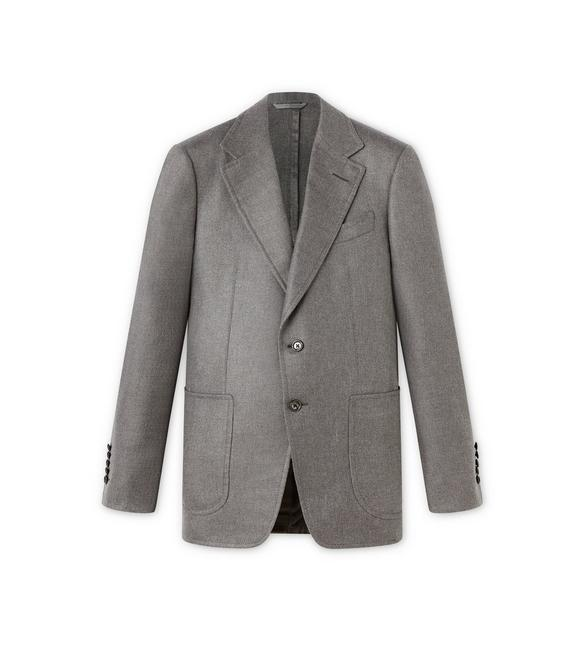 GREY SILK SHELTON SPORT JACKET A fullsize