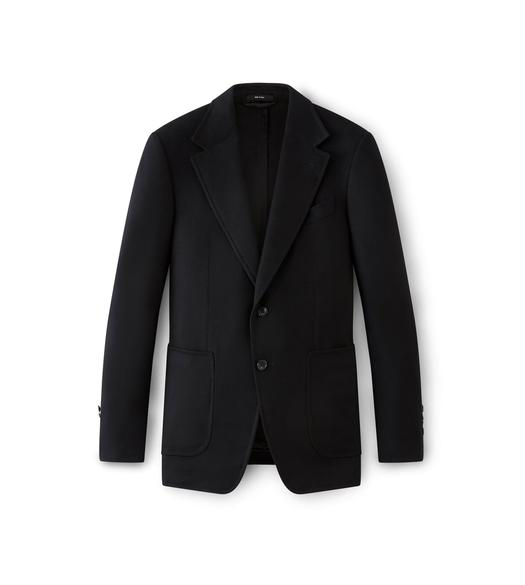 BLACK CASHMERE SHELTON SPORT JACKET