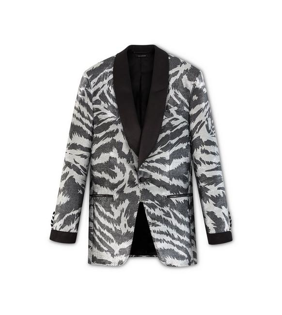 ZEBRA ATTICUS COCKTAIL JACKET A fullsize
