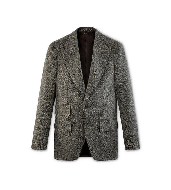 HERRINGBONE TWEED ATTICUS JACKET A fullsize