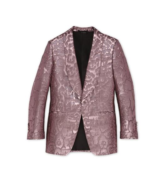PINK LEOPARD ATTICUS COCKTAIL JACKET
