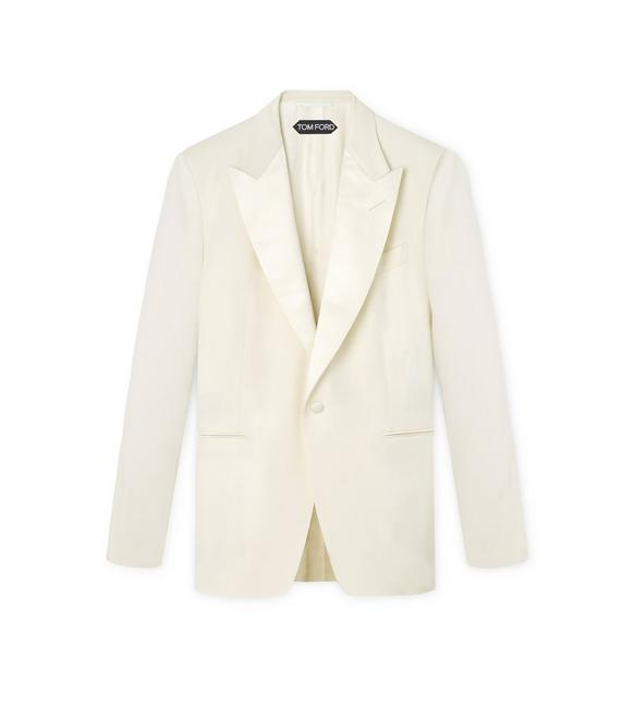IVORY WOOL WINDSOR COCKTAIL JACKET A fullsize