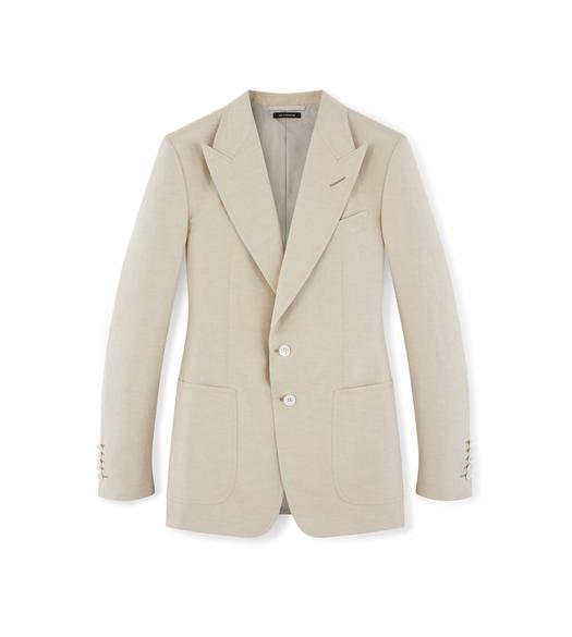 LINEN SILK SHELTON JACKET