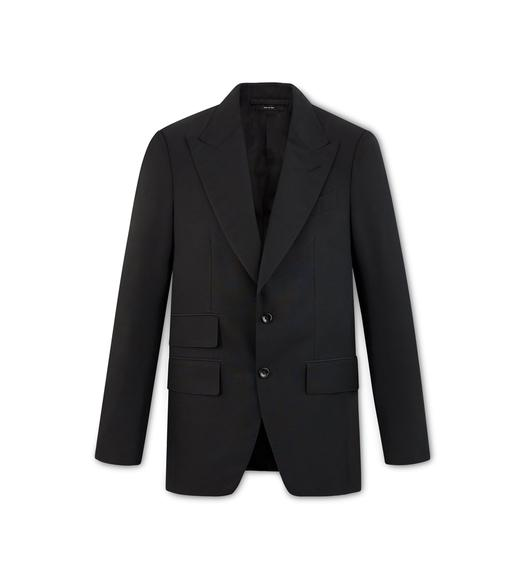 BLACK MIKADO SHELTON JACKET