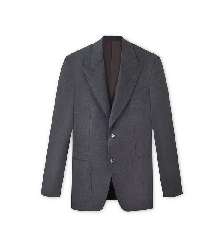 WOOL SILK DELAVE SPENCER SPORT JACKET A fullsize