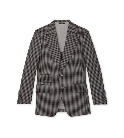 GREY TATTERSALL ATTICUS JACKET