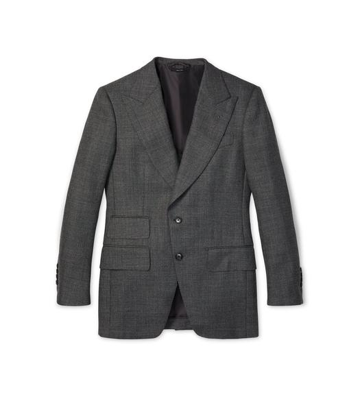 GRAND DRY SHARKSKIN ATTICUS JACKET