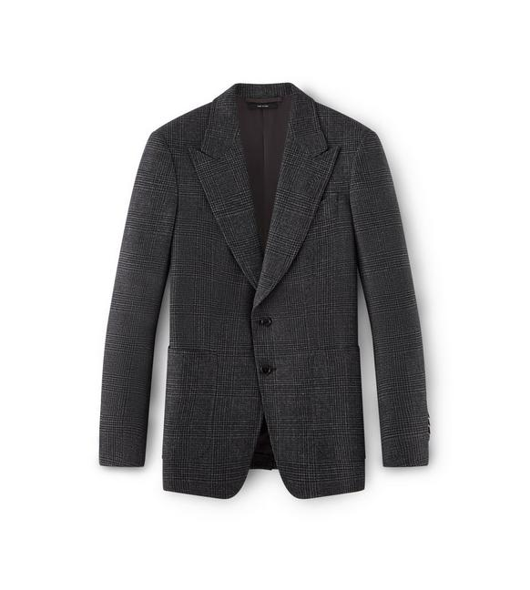 CHARCOAL WOOL SHELTON SPORT JACKET A fullsize