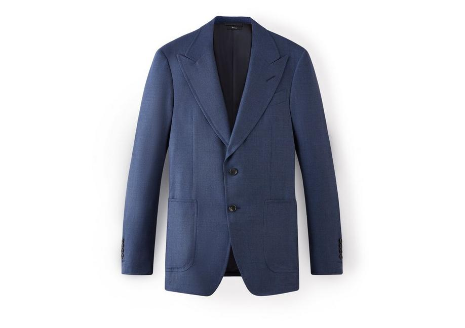 BLUE CASHMERE SHELTON JACKET A fullsize