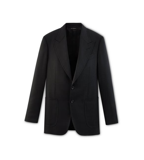 BLACK HIGH TWIST SHELTON JACKET A fullsize