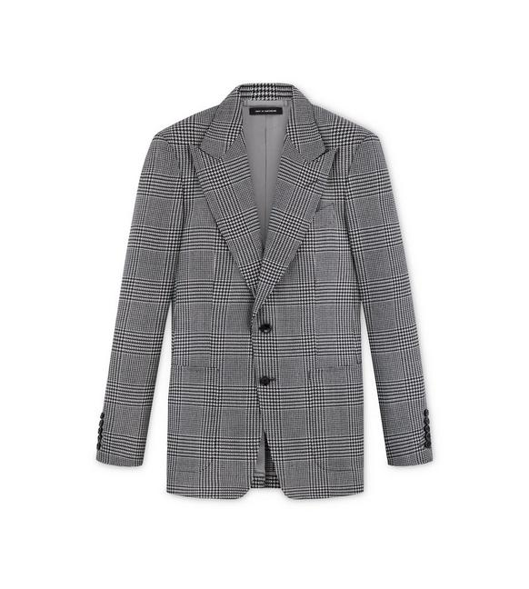 CHECK MOHAIR SHELTON JACKET A fullsize