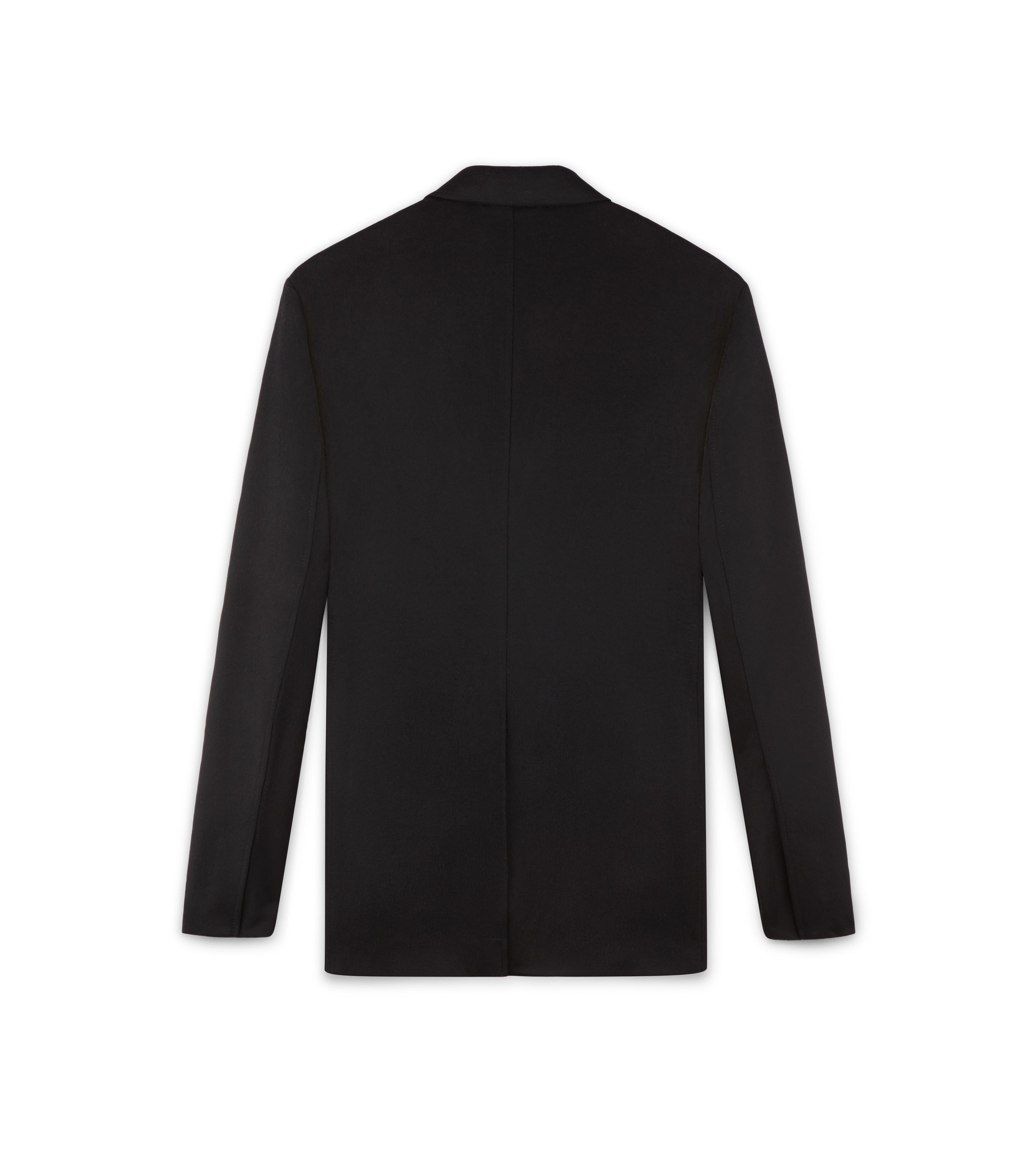 BLACK BRUSHED CASHMERE O'CONNOR SPORT JACKET B thumbnail