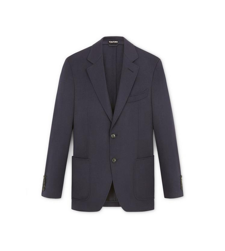 NOTCH LAPEL LIGHT CONSTRUCTION JACKET A fullsize