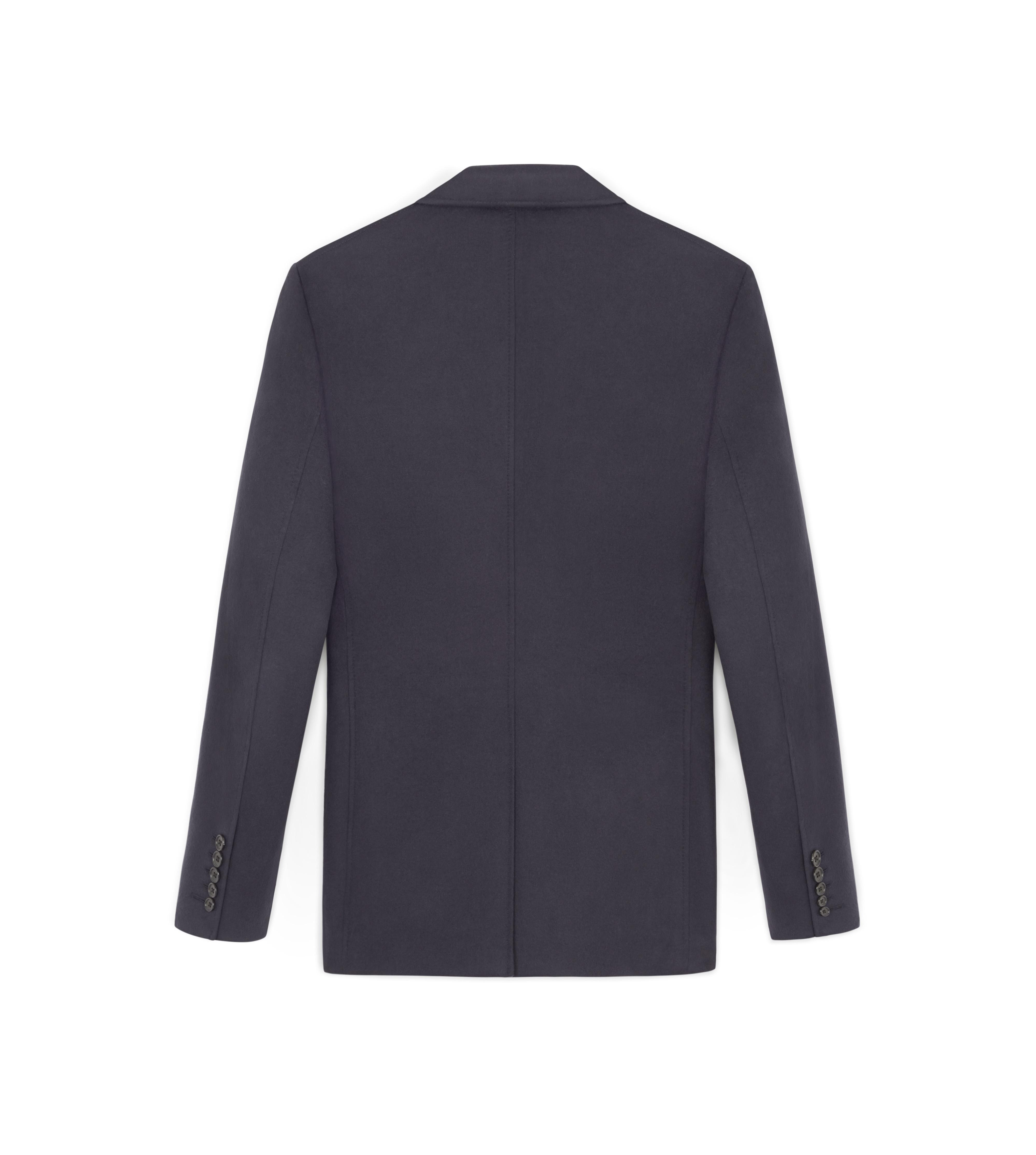NAVY BRUSHED CASHMERE SHELTON SPORT JACKET B thumbnail