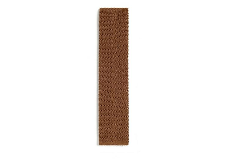 COMPACT WEAVE KNITTED TIE A fullsize