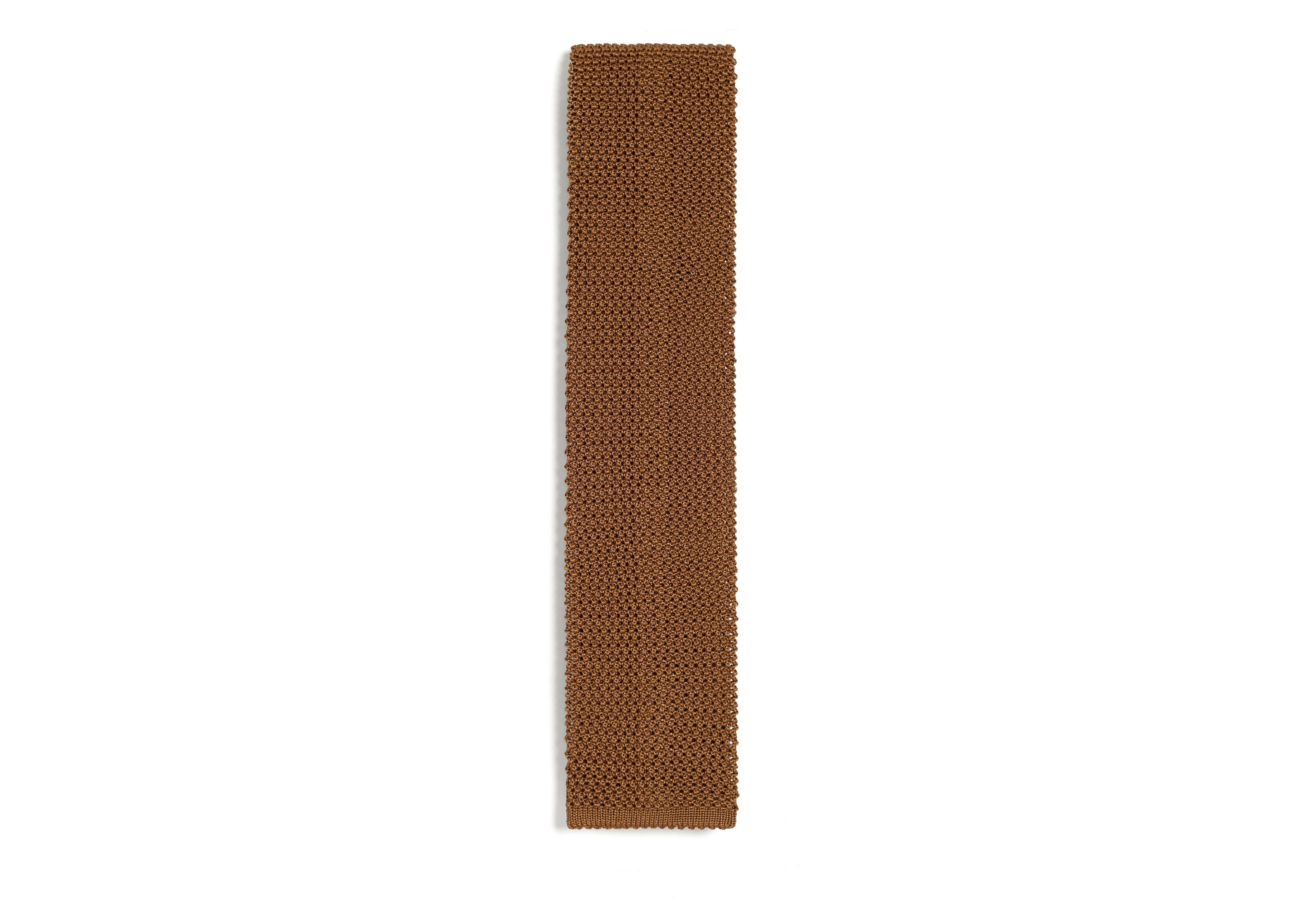 COMPACT WEAVE KNITTED TIE A thumbnail