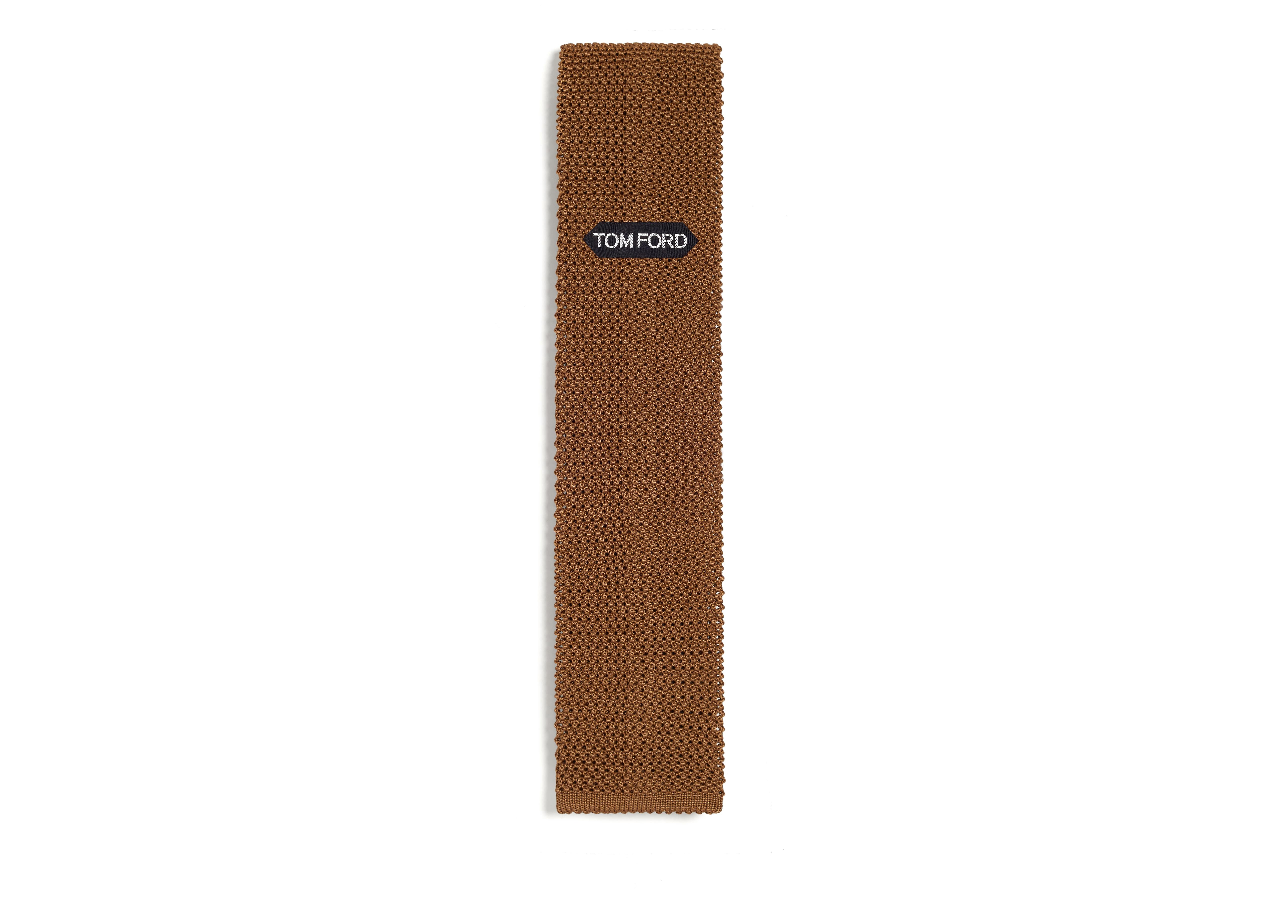 COMPACT WEAVE KNITTED TIE B thumbnail