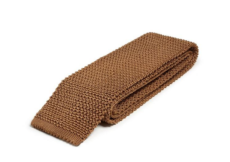 COMPACT WEAVE KNITTED TIE C fullsize