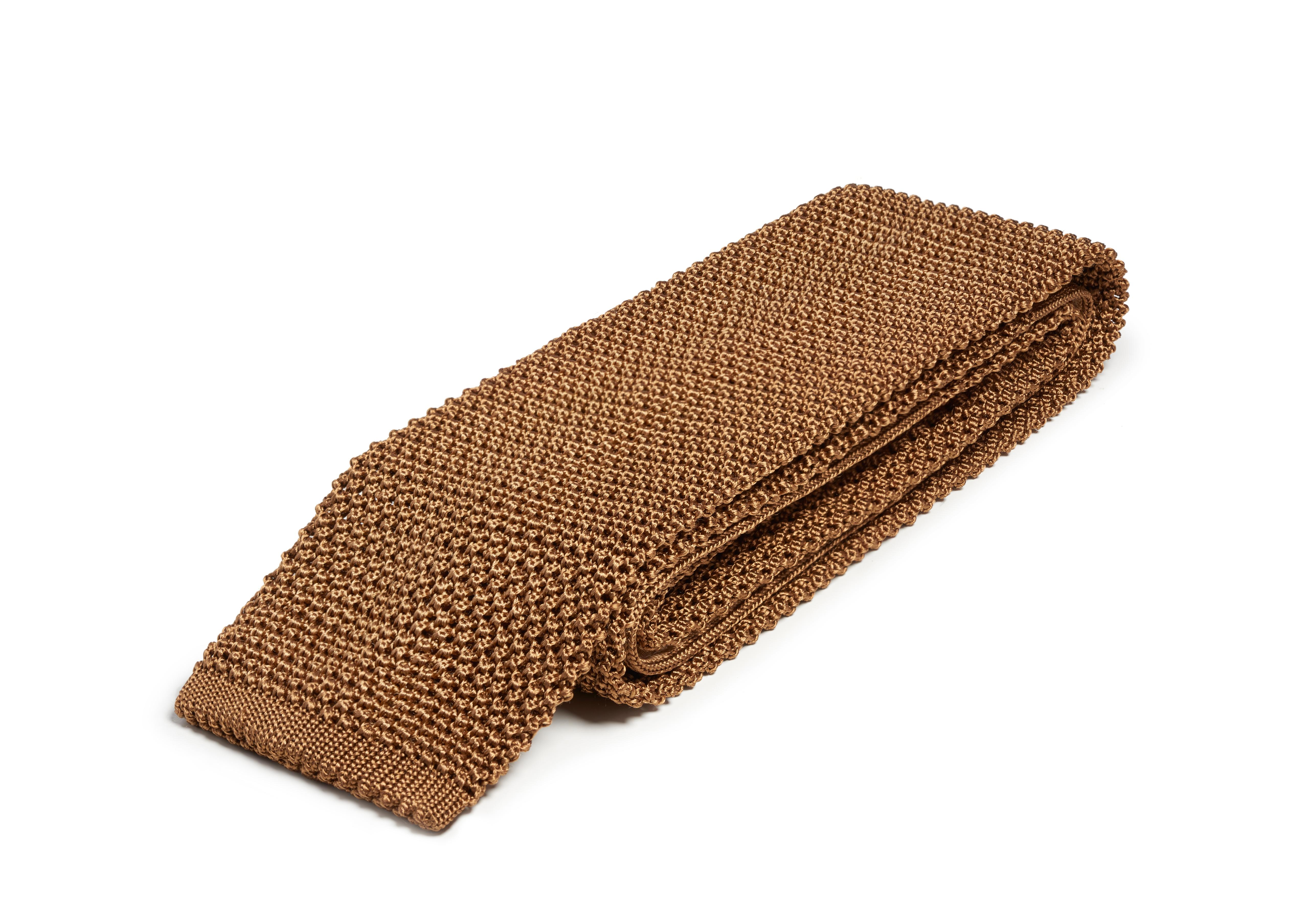 COMPACT WEAVE KNITTED TIE C thumbnail