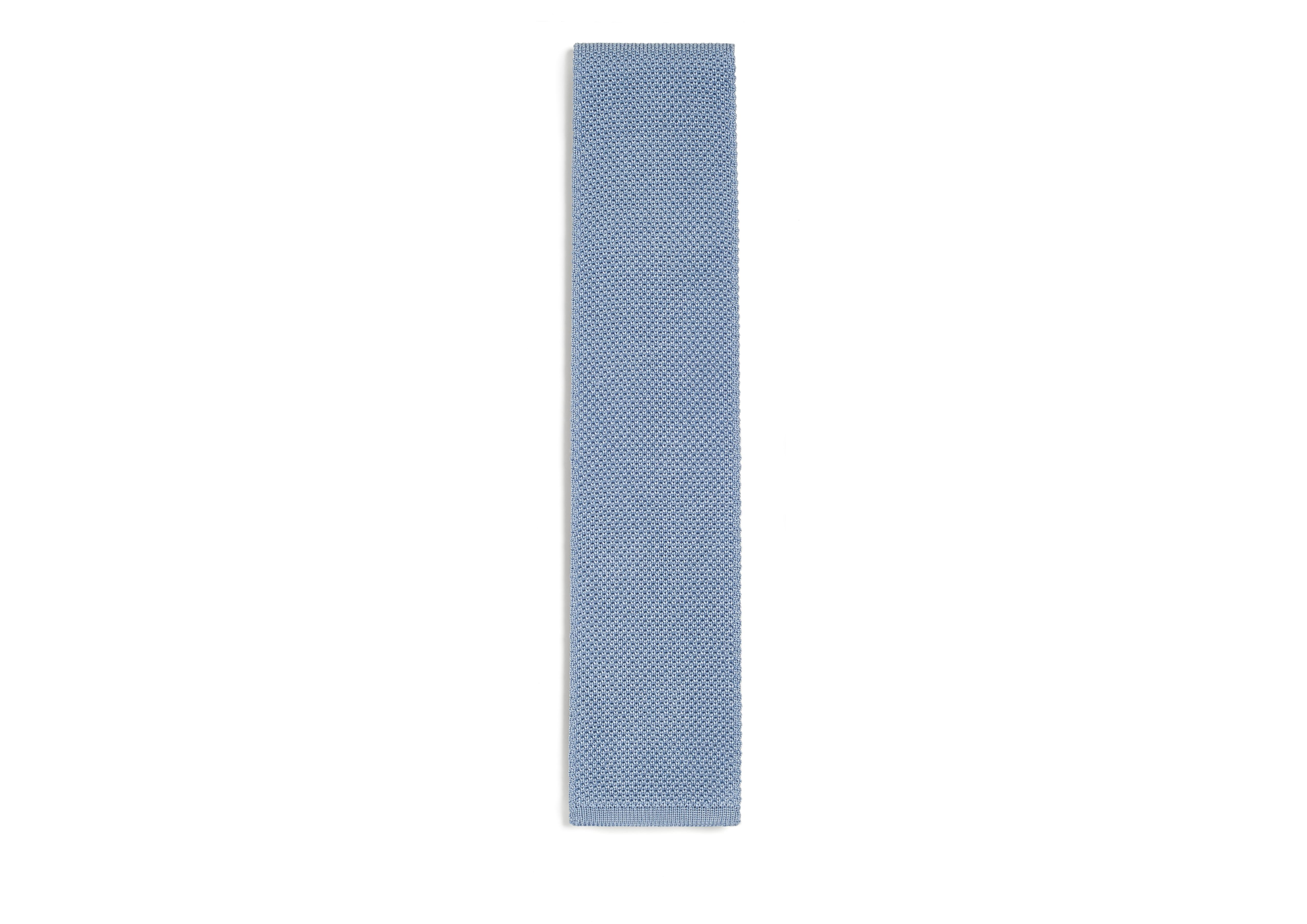 VERTICAL WEAVE KNITTED TIE A thumbnail