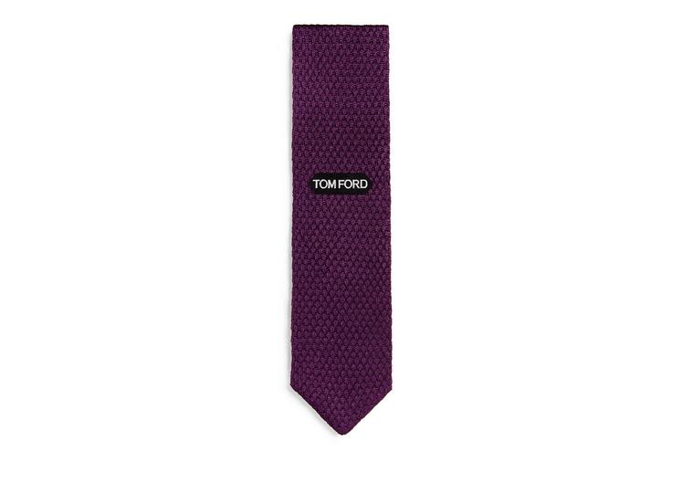 RAISED TEXTURED KNIT TIE B fullsize