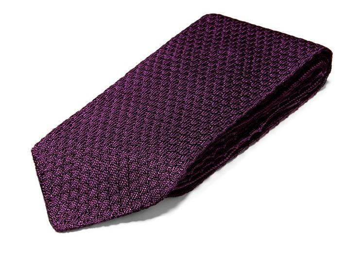 RAISED TEXTURED KNIT TIE C fullsize