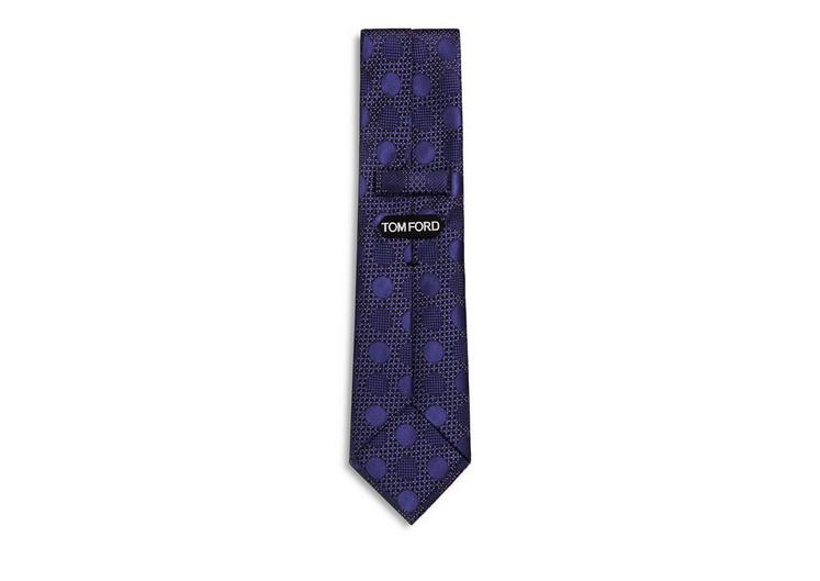 FANCY TONAL DOT CLASSIC SILK TIE B fullsize