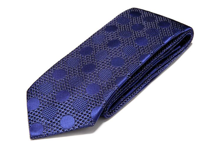 FANCY TONAL DOT CLASSIC SILK TIE C fullsize