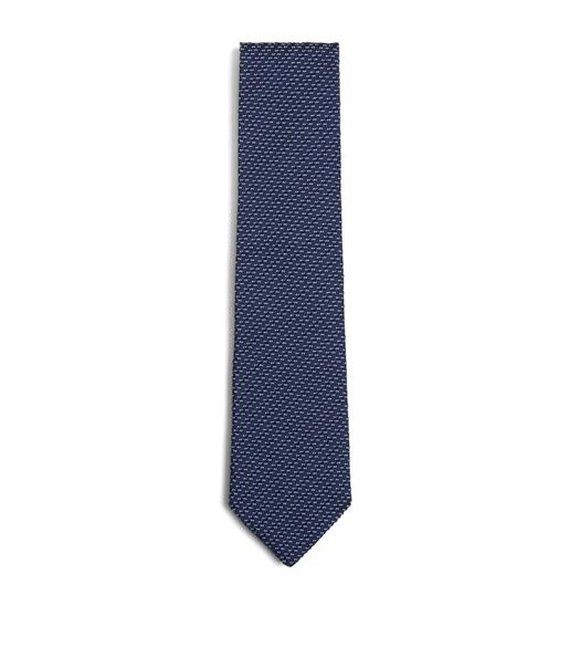 Latest New Tom Ford Grey Basketweave Striped Silk Tie for Men Online Sale Sale