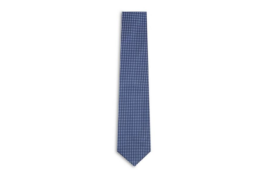 TONAL HOUNDSTOOTH TIE A fullsize