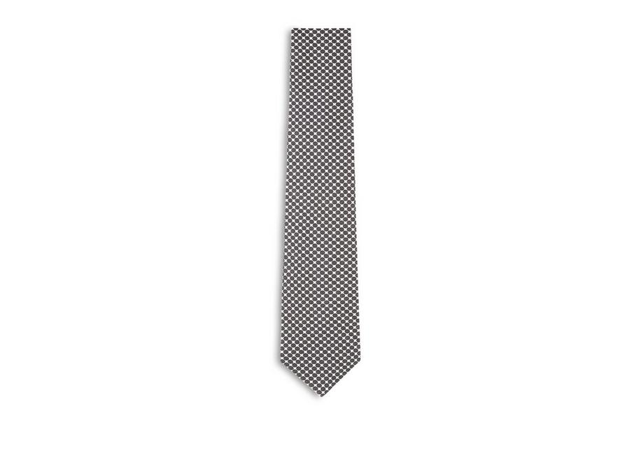 LARGE DOT SILK TIE A fullsize