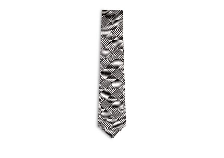 PRINCE OF WALES SILK TIE A fullsize