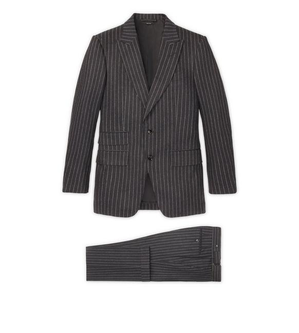 GREY FLANNEL STRIPE ATTICUS SUIT A fullsize