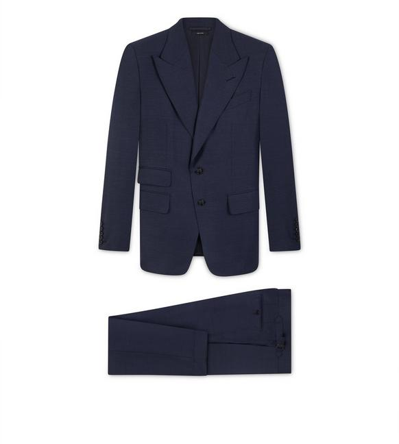 BLUE PINPOINT SHELTON SUIT A fullsize