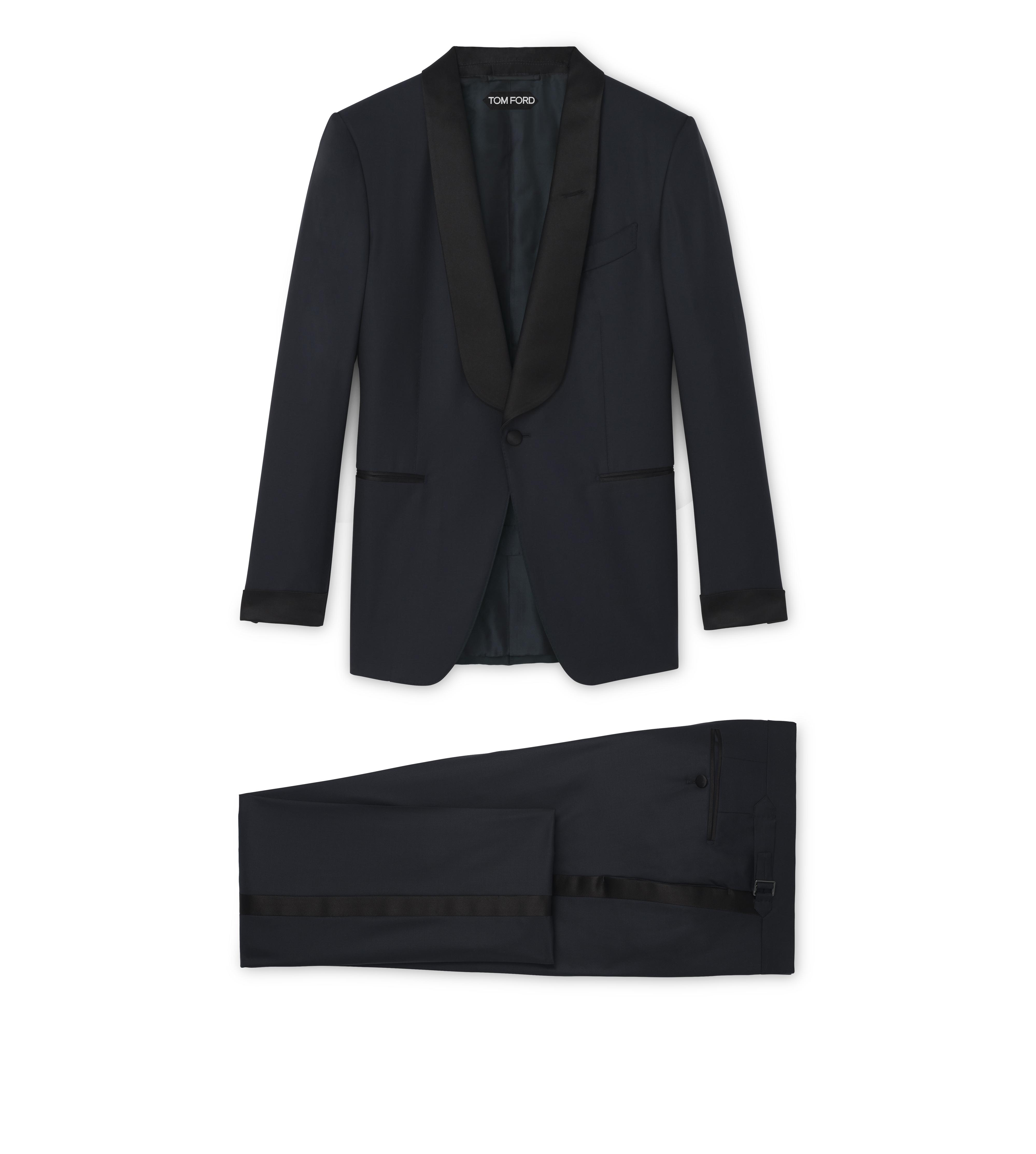 O'CONNOR SHAWL COLLAR EVENING SUIT A thumbnail