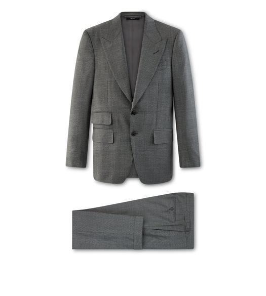 GREY WOOL O'CONNOR SUIT