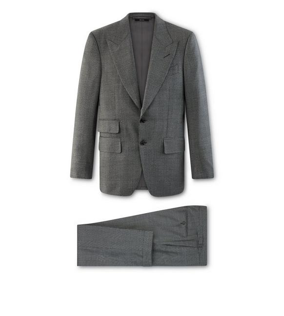 GREY WOOL O'CONNOR SUIT A fullsize
