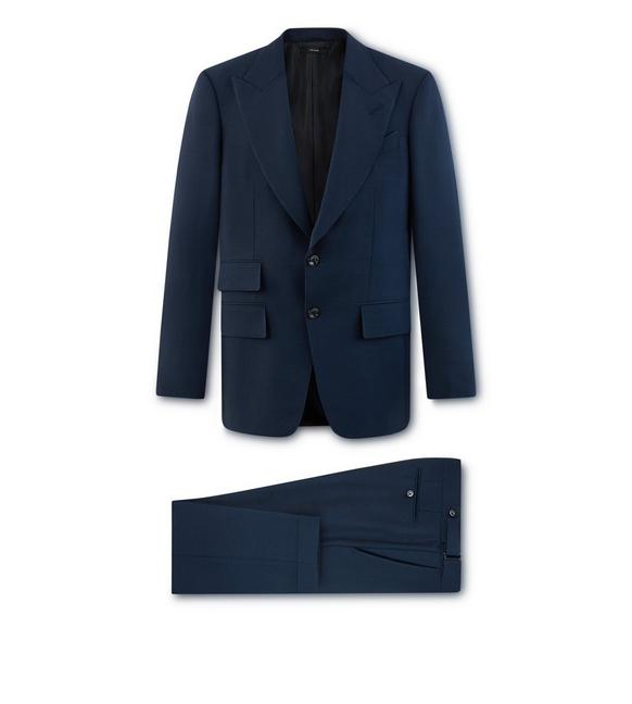 BLUE MOHAIR O'CONNOR SUIT A fullsize