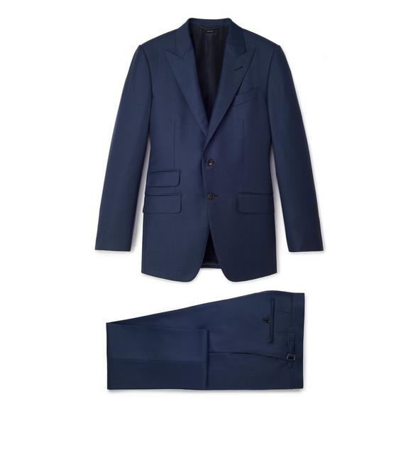 SHARKSKIN WOOL O'CONNOR SUIT A fullsize
