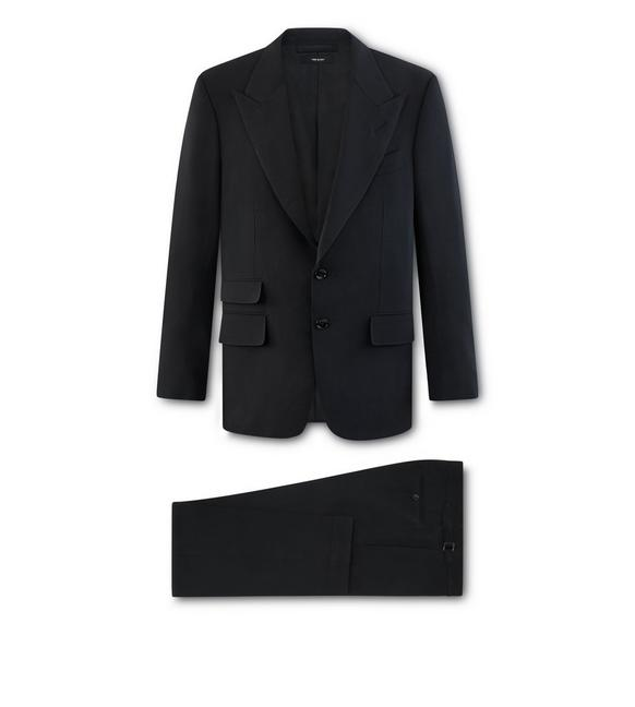 BLACK TECHNO WOOL O'CONNOR SUIT A fullsize